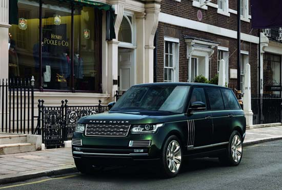 The Most Expensive Range Rover Of All Time: Holland & Holland Range Rover