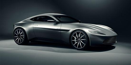 The Aston Martin DB10 Is James Bond's New Car