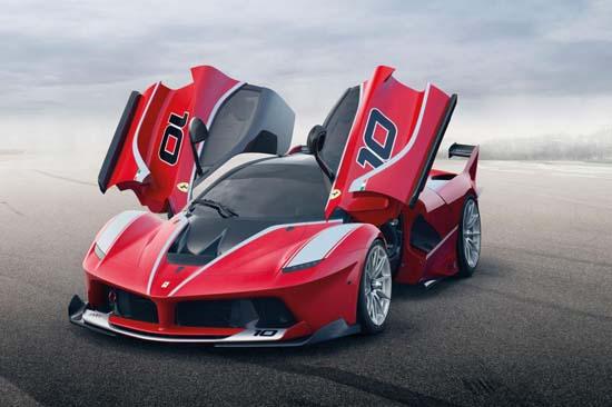 Ferrari LaFerrari FXX K track-only monster has 1,036bhp