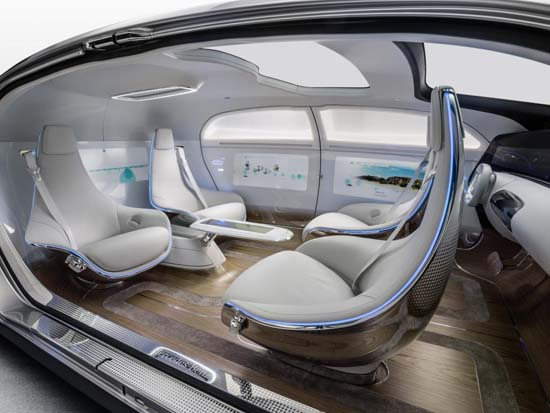 Mercedes Reveals F 015 Luxury in Motion Concept