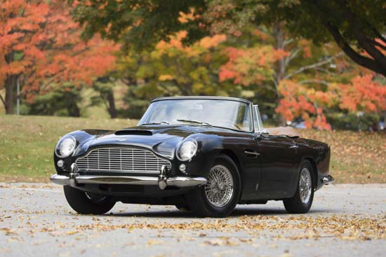 1965 Aston Martin DB5 Convertible Sells For Staggering $2.15 Million