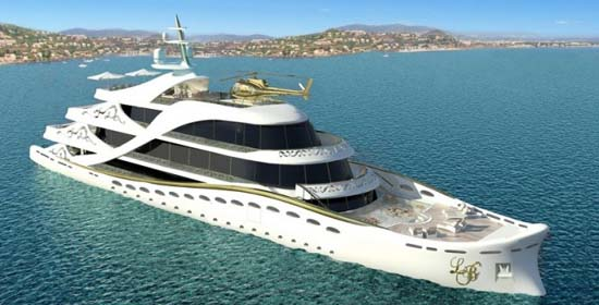 La Belle Yacht Concept by Lidia Bersani