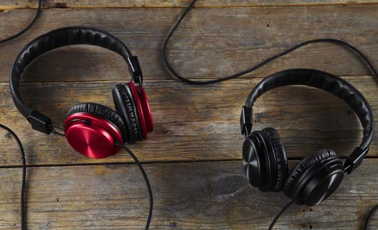 Stylish Galvanize Headphones by Bloc & Roc