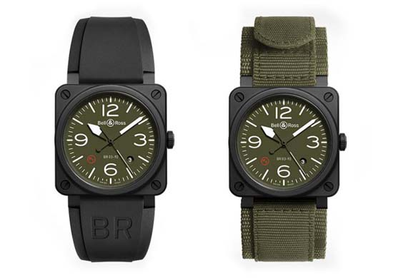 Bell & Ross BR03 Military Type Watch