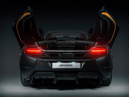 McLaren Unveils One-of-a-Kind 650S Project Kilo