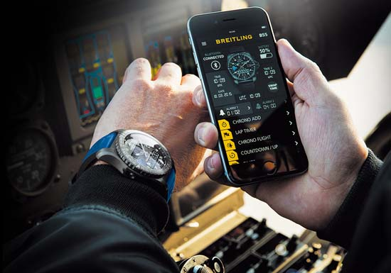 Breitling Unveils the B55 Connected Chronograph