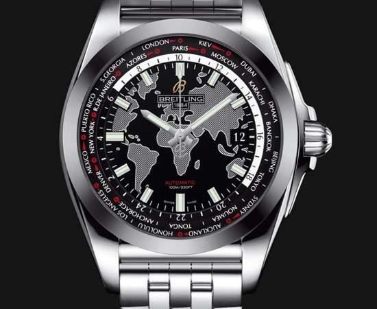 Breitling Galactic Unitime SleekT Watch