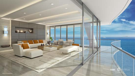 Fendi Château Penthouse In Miami Up For Sale At $25 Million