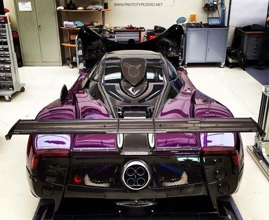 Astonishing One-Off Pagani Zonda Zozo Revealed