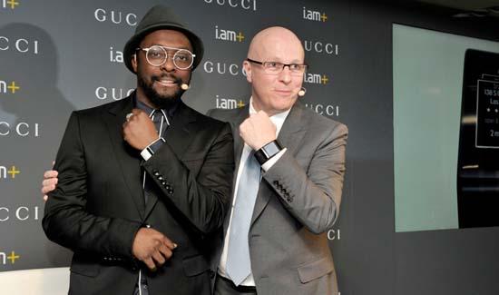 Gucci x will.i.am Announce Luxury Smartband