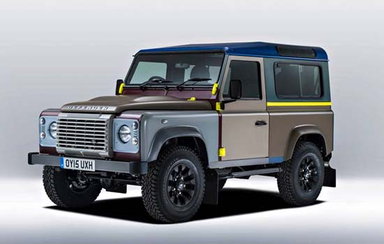 Land Rover Reveals The One-Off Paul Smith Defender