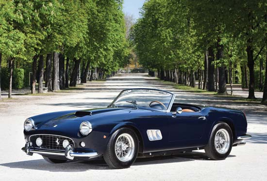 1961 Ferrari 250 GT SWB California Spider Heading To Auction