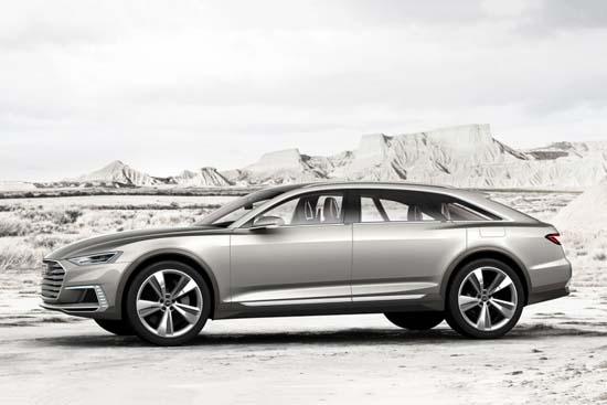 Audi Prologue Allroad Concept 724bhp