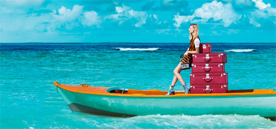 Louis Vuitton Goes Caribbean For Spirit of Travel 2015