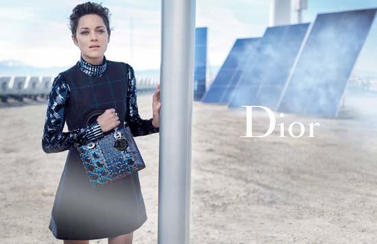 Marion Cotillard Looks Radiant For Lady Dior