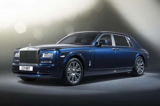 Rolls-Royce Phantom Limelight Collection Unveiled