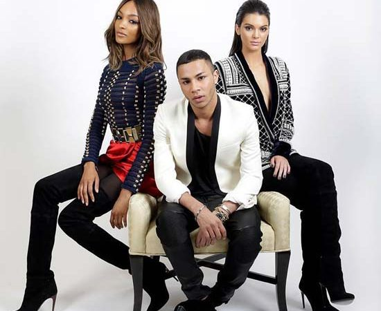 Balmain x H&M Collaboration Announced!