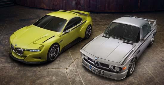 BMW 3.0 CSL Hommage Unveiled at Villa d'Este