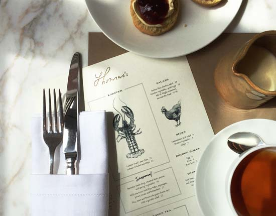 Burberry Opens Its First Café in London