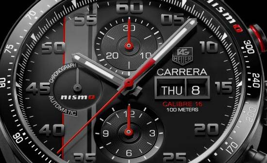 TAG Heuer Unveils Carrera Nismo Calibre 16 for Le Mans