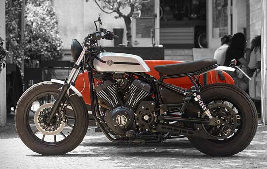 Yamaha XV950 D-Side Motorcycle by Deus Ex Machina