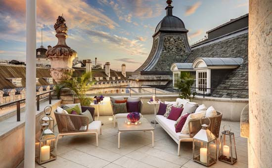 Take A Look Inside Dome Penthouse at Café Royal London