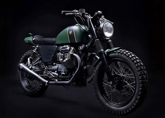 Moto Guzzi V7 Scrambler by Venier Customs