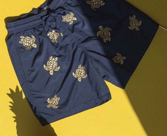 Fancy A Pair Of Vilebrequin Sapphire Blue Lagoon Luxury Swimwear?
