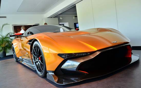 Aston Martin Vulcan in Orange? Yes please!