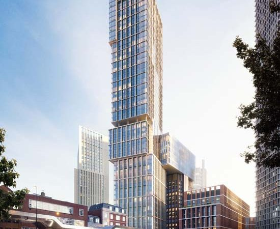 Aykon Nine Elms Tower In London To Feature Interiors by Versace Home