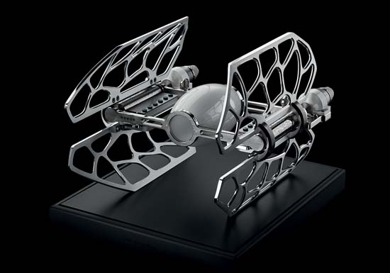 MB&F's MusicMachine 3 Inspired By Star Wars' TIE Fighters
