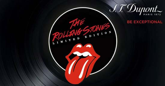 S.T. Dupont Pays Tribute to Rolling Stones With A Limited Collection