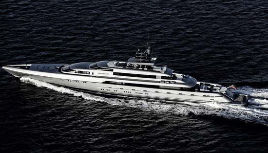 The Astonishing Silver Fast Superyacht Can Be Yours For $87M