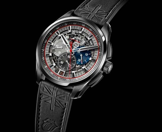 "Zenith El Primero ""Lightweight"" Tribute to the Rolling Stones, For Only Watch 2015"