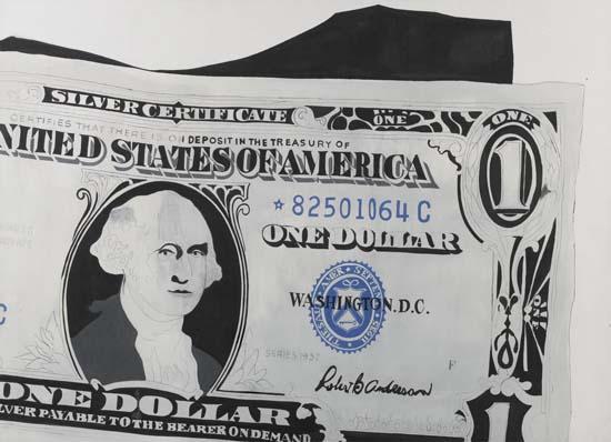 Andy Warhol's $1 Bill Sells For $32.8 Million USD
