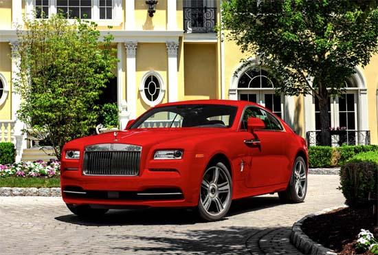 Rolls-Royce Introduces Wraith St. James Edition