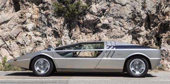 This One-Of-A-Kind 1972 Maserati Boomerang Coupé Could Be Yours