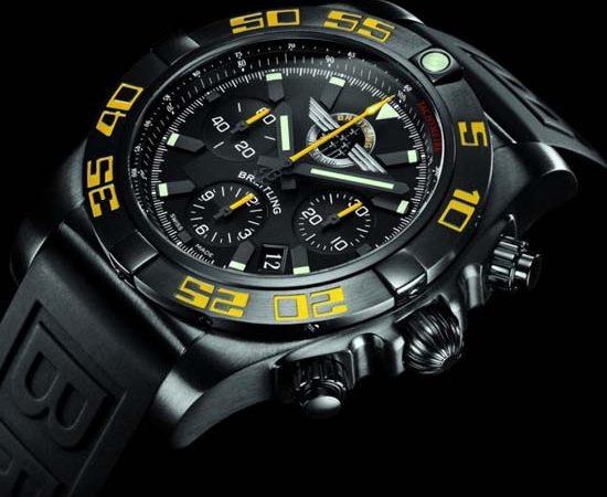 Breitling Chronomat 44 Blacksteel for Jet Team American Tour