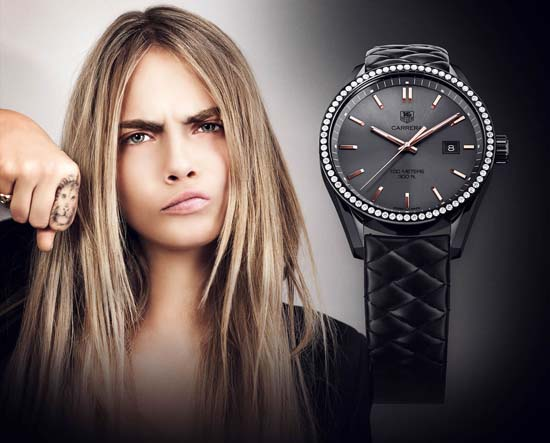 Cara Delevingne x TAG Heuer Raises Funds for Wild Lions in Africa