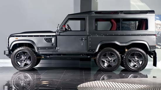 Land Rover Defender Flying Huntsman 6×6 by Kahn Design