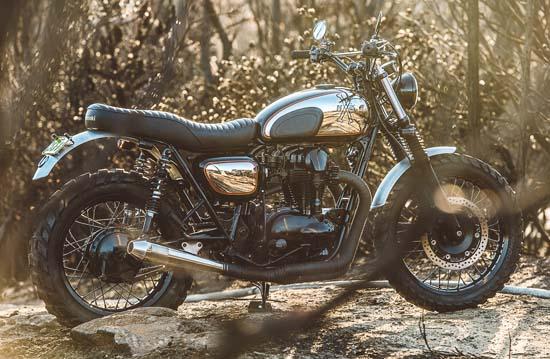 Kawasaki W650 Wishbones by Deus Ex Machina