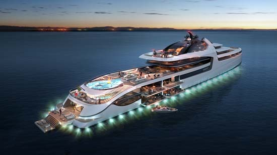 Admiral X-Force 145 Yacht – World's most expensive megayacht?