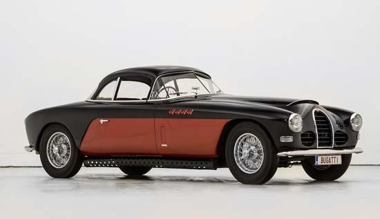 Nicolas Cage's 1954 Bugatti Roadster to be Auctioned