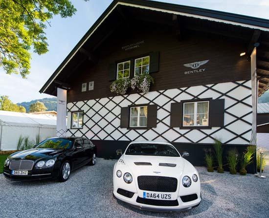 Bentley Motors Opens First Mountain Lodge in Kitzbühel, Austria