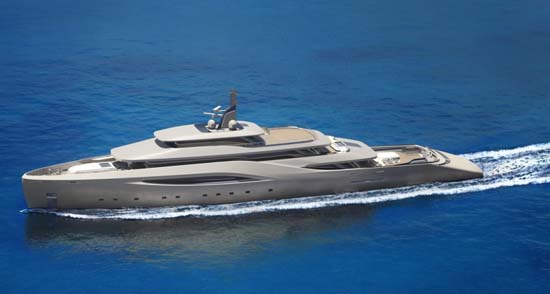 Ottantacinque Luxury Motor Yacht by Pininfarina x Fincantieri