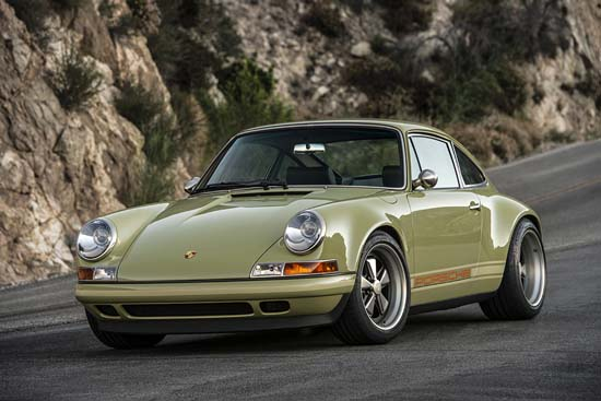 Porsche 911 'Manchester' by Singer Vehicle Design Is Sublime