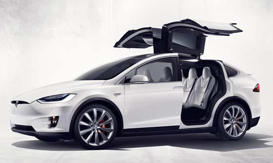 Tesla Model X SUV Released