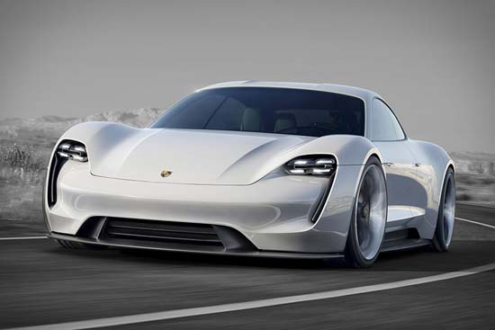 Porsche Mission E Concept is Spectacular