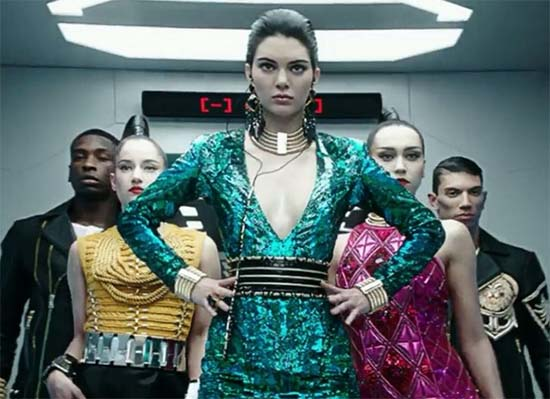 Balmain x H&M 2015 Campaign Video Starring Kendall Jenner