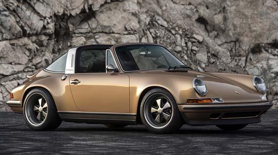 Porsche 911 Targa Reimagined by Singer Is Sublime